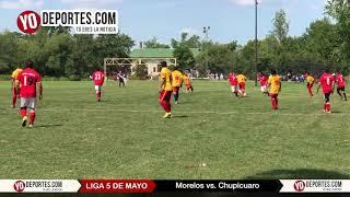 Morelos vs Chupicuaro Liga 5 de Mayo