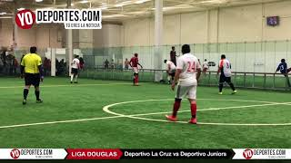 Deportivo La Cruz vs. Deportivo Juniors Liga Douglas Domingo