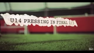Soccer Coaching Defending Drill: Pressing Warm Up