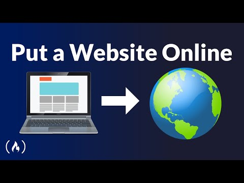 How to Put a Website Online - Creation, Domain, Hosting, DNS