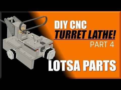 DIY CNC Turret Lathe Part 4 | WW211
