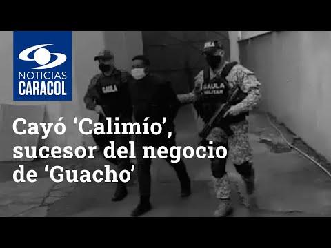 Cayó 'Calimío', sucesor del negocio de 'Guacho': grabó canción en la que relata sus crímenes