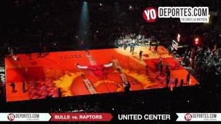 Chicago Bulls lineup vs. Toronto Raptors