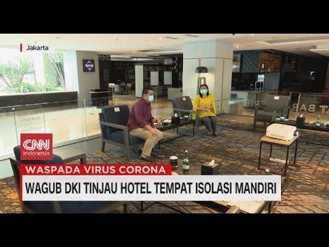 Wagub DKI Tinjau Hotel Tempat Isolasi Mandiri