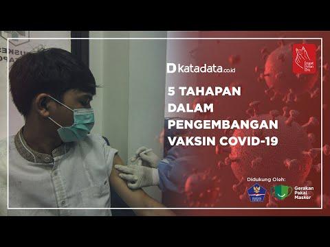 5 Tahapan Dalam Pengembangan Vaksin Covid-19 | Katadata Indonesia