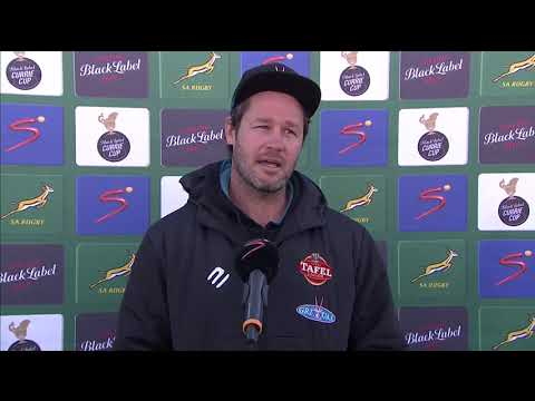 Currie Cup | Round 14 | Tafel Lager Griquas v New Nation Pumas | Interview with Scott Mathie