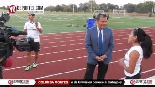 Univision Chicago conoce el trabajo de Columba Montes
