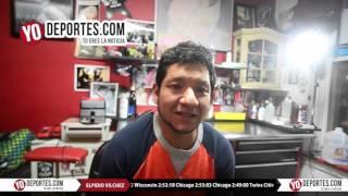 Elpidio Vilchez se tatua el dolor de un maraton NYC Marathon