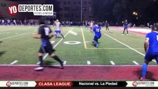 Nacional Nuevo Líder de CLASA 2-0 a La Piedad
