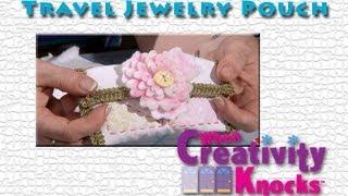 Travel Jewelry Pouch