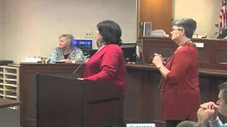 121015LS Robertson County Tennessee County Commission Meeting October 15, 2012 LS