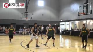 Alpixafia vs. Warriors final Liga Azteca de Basketball Chicago
