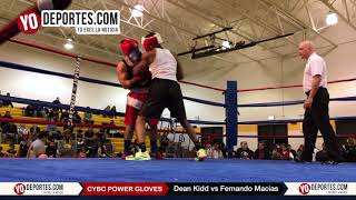 Dean Kidd vs. Fernando Macias CYBC Power Gloves 2017