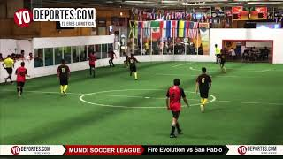 Fire Evolution vs. San Pablo Mundi Soccer League Chitown Futbol