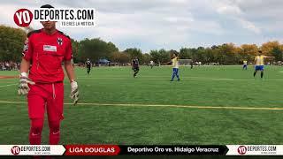 Deportivo Oro vs. Hidalgo Veracruz Liga Douglas