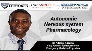 Pharmacology of Autonomic Nervous system