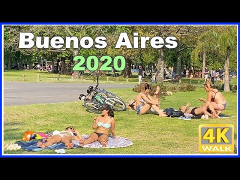 【4K】WALK Buenos Aires ARGENTINA 4K video Travel channel 2020