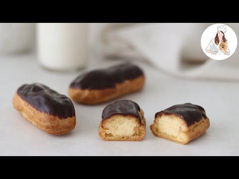 How to Make Eclairs / Chocolate Eclair Recipe
