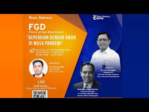 Diskusi Bisnis Indonesia - Bepergian Dengan Aman di Masa Pandemi