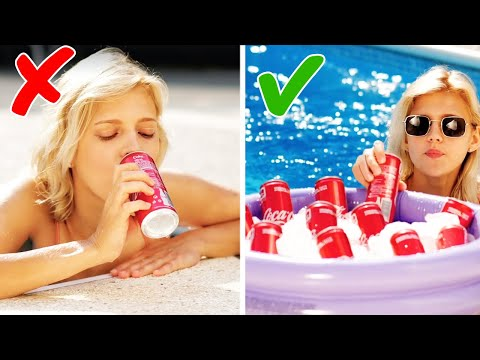 44 POOL AND BEACH HACKS