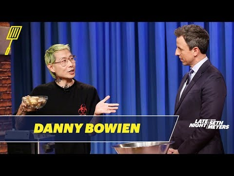 Danny Bowien Cooks Up Some Spicy Chicken Wings for Seth
