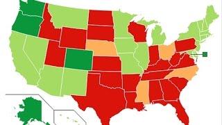 Marijuana Legalization State by State