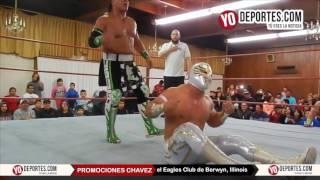 Caristico derrota a Ultimo Guerrero y Gran Guerrero en Chicago