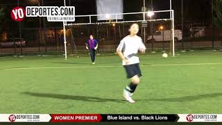 Penales Blue Island vs. Black Lions Recopa Chicago Women Premier