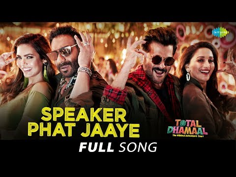 Speaker Phat Jaaye Lyrics – Total Dhamaal 2019