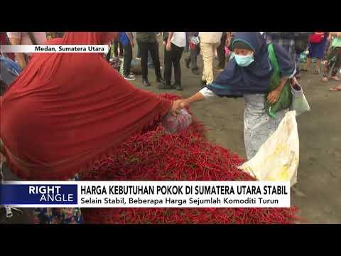 Harga Kebutuhan Pokok di Sumatera Utara Stabil