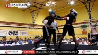 Saul Cano vs. Tommy Robinson Joliet Luna Boxing