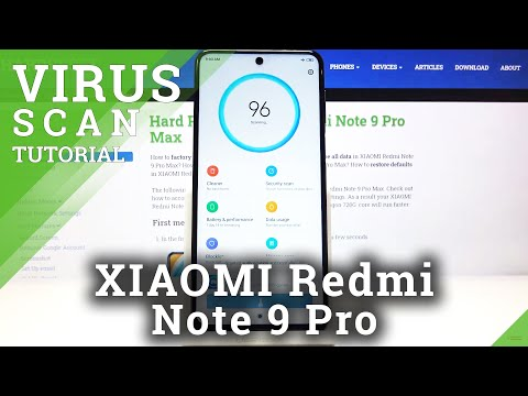 How to Virus Scanning XIAOMI Redmi Note 9 Pro – Anti-Virus and Security Scan