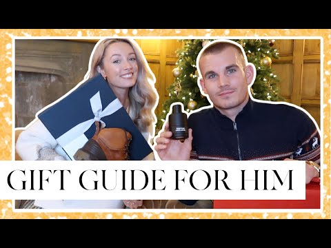CHRISTMAS GIFT GUIDE FOR THE BOYS!  2020 // Fashion Mumblr