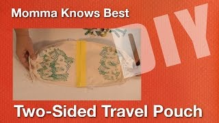 Two-Sided Travel Pouches