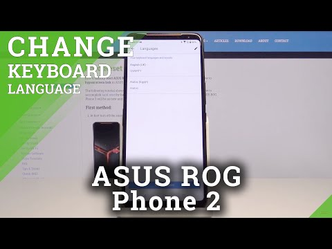 How to Switch Keyboard Language in ASUS ROG Phone 2 – Language Settings