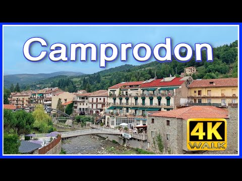 【4K】WALK SPAIN Catalonia 4k video HDR Pirineos TRAVEL vlog
