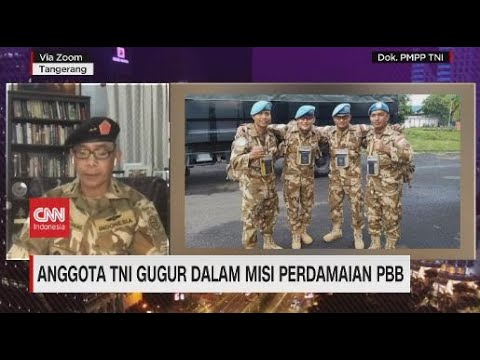 Kronologi Anggota TNI Gugur dalam Misi Perdamaian PBB