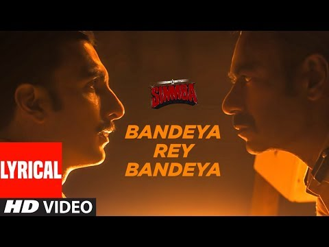 Bandeya Rey Bandeya Song Lyrics-Simmba 2019
