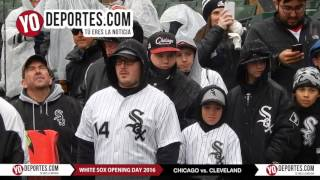 White Sox Snow Opening Day Ceremony