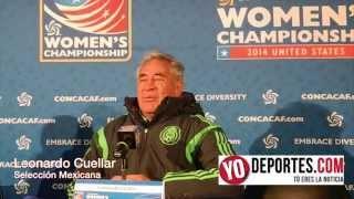Leonardo Cuellar dice que el gigante de la CONCACAF es Estados Unidos