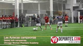 Aztecas vs Galaxy final de Women Premiere Academy Soccer League