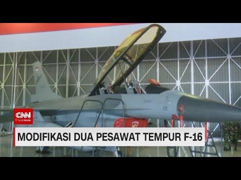 Modifikasi Dua Pesawat Tempur Canggih F-16 Karya Anak Negeri