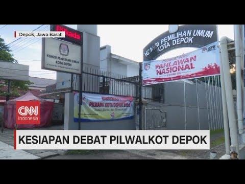 Kesiapan Debat Pilwakot Depok