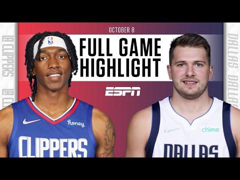 Los Angeles Clippers at Dallas Mavericks   Full Game Highlights