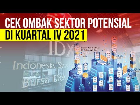 Ramalan Saham - Cek Ombak Sektor Cuan Kuartal IV 2021