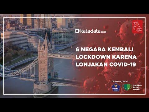 6 Negara Kembali Lockdown Karena Lonjakan Covid-19 | Katadata Indonesia