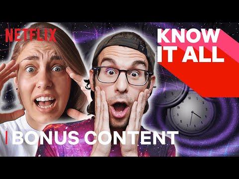 Vsauce3 & OnlyJayus Talk Time Travel | KNOW IT ALL | Netflix