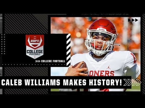 Oklahoma QB Caleb Williams makes history vs. Texas Longhorns   Full Game Highlights