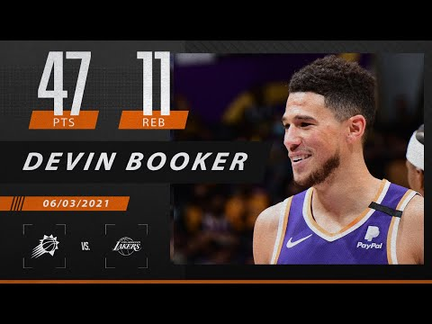 Devin Booker drops 47 points to hand LeBron his first, first-round playoff exit   2021 NBA Playoffs