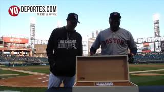 Chris Sale presents David Ortiz Boston Red Sox cigars